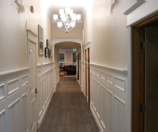 hallway of a house